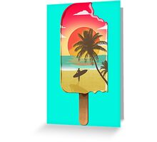 Chillin' at the Beach Greeting Card