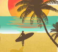 Chillin' at the Beach Sticker