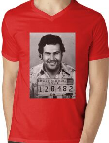 Pablo Escobar Mens V-Neck T-Shirt
