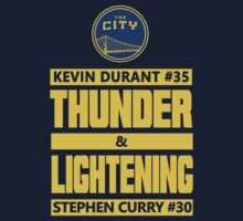 Durant Thunder and Curry Lightening One Piece - Short Sleeve