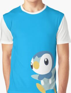 Piplup Design Graphic T-Shirt