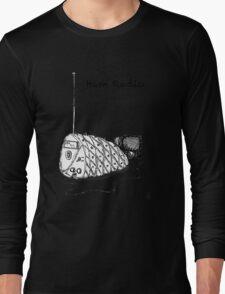 Ham Radio (B&W) Long Sleeve T-Shirt