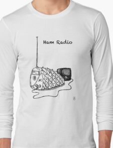 Ham Radio (B&W) Long Sleeve T-Shirt