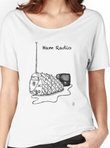Ham Radio (B&W) Women's Relaxed Fit T-Shirt