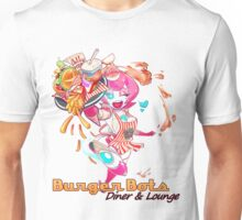 Burger Bots Waitress Unisex T-Shirt