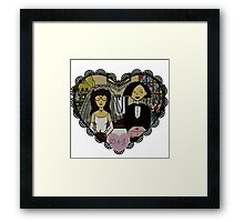 Daria and Jane forever Framed Print