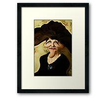 Ugly Lady Framed Print
