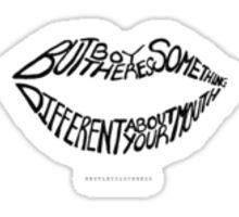 // The 1975 Woman // Sticker