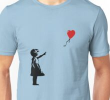 Balloon Girl Banksy Unisex T-Shirt
