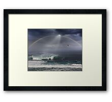 Winter Waves At Pipeline 16 Framed Print