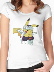 PIKALO  Women's Fitted Scoop T-Shirt