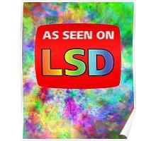 As Seen on LSD  Poster