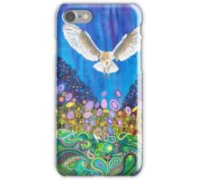 The owl and the mouse iPhone Case/Skin