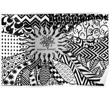 doodle pattern ( 265 Views) Poster