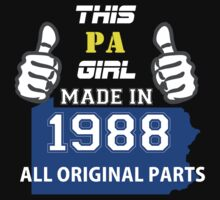 This Pennsylvania Girl Made in 1988 by satro