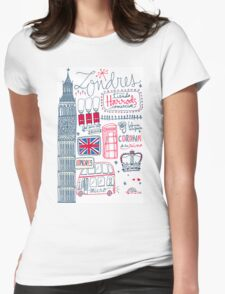London Tour Womens Fitted T-Shirt