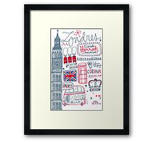 London Tour 578 Framed Print