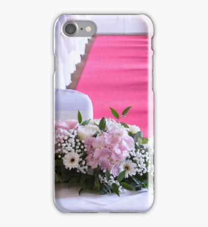 Waiting for the Bride and Groom iPhone Case/Skin