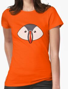 Cute little puffin Womens Fitted T-Shirt