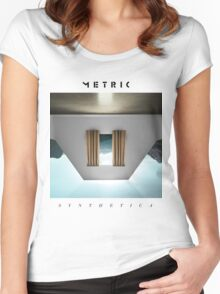Metric Synthetica Women's Fitted Scoop T-Shirt