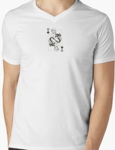 Game Of Thrones Queen Playing Card Mens V-Neck T-Shirt
