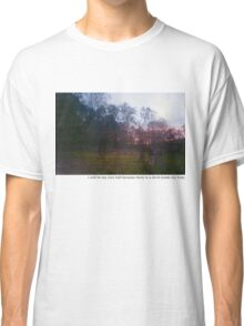 Teen suicide i will be my own hell  Classic T-Shirt