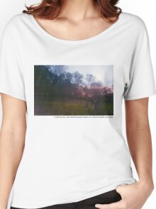 Teen suicide i will be my own hell  Women's Relaxed Fit T-Shirt