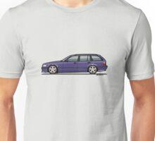 Bavarian E36 328i 3-Series Touring Wagon Techno Violet Unisex T-Shirt