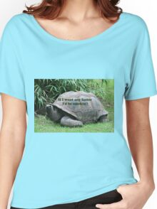 If I went any faster I'd be smokin'! Tortoise Women's Relaxed Fit T-Shirt