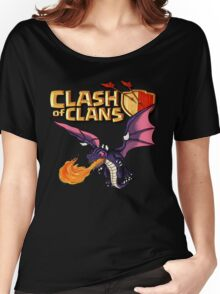 the Dragon Clash Women's Relaxed Fit T-Shirt