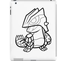 Chibi Groudon. Pokemon  iPad Case/Skin