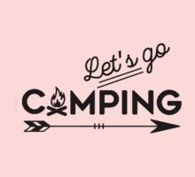 lets go camping One Piece - Short Sleeve