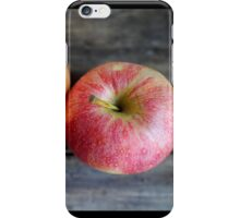 Two red apples iPhone Case/Skin