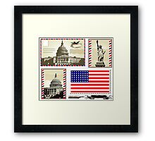 USA Framed Print