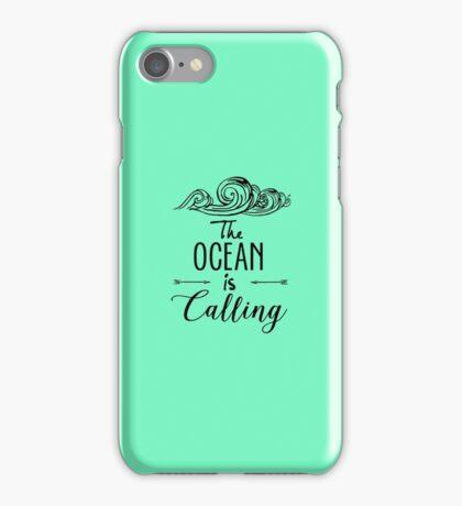 Ocean is Calling iPhone Case/Skin