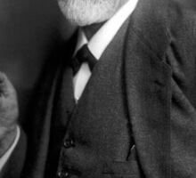 Sigmund Freud Psychologist Sticker