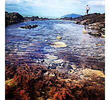 Rock pools, of Central Queensland  Photographic Print