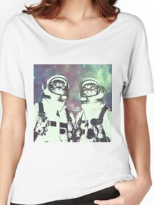Space Age Catstronauts Women's Relaxed Fit T-Shirt