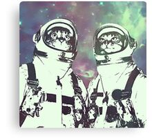 Space Age Catstronauts Canvas Print