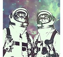 Space Age Catstronauts Photographic Print