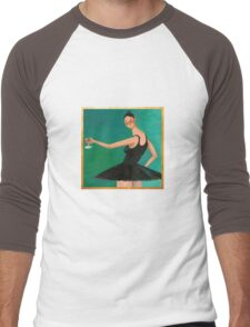 My Beautiful Dark Twisted Fantasy (Ballerina) Men's Baseball ¾ T-Shirt