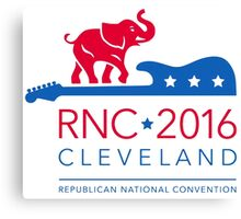 RNC - Republican National Convention in Cleveland Canvas Print