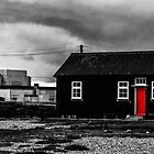 Dark impressions at Dungeness by Sue Purveur