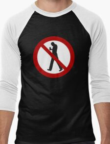 Smartphone Zombies Prohibited Men's Baseball ¾ T-Shirt