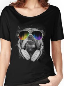 Bulldog DJ Women's Relaxed Fit T-Shirt