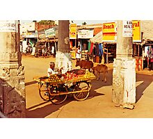 Temple in the Marketplace Photographic Print