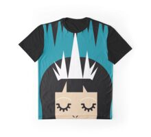 The Creepy Little Queen (black) Graphic T-Shirt