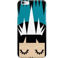 The Creepy Little Queen (black) iPhone Case/Skin