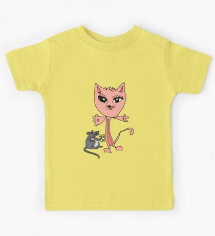 COOL Kitty Kids Tee