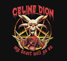 Celine dion - My Heart Will Go On - Metal Artwork  Women's Fitted Scoop T-Shirt